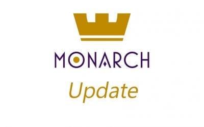 MONARCH TOKEN UPDATE –  AUG 31, 2018: