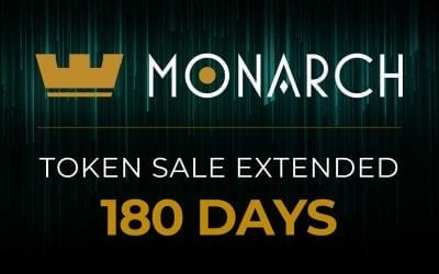 Monarch Blockchain Corporation Will Extend Its Token Generation Event 180 Days