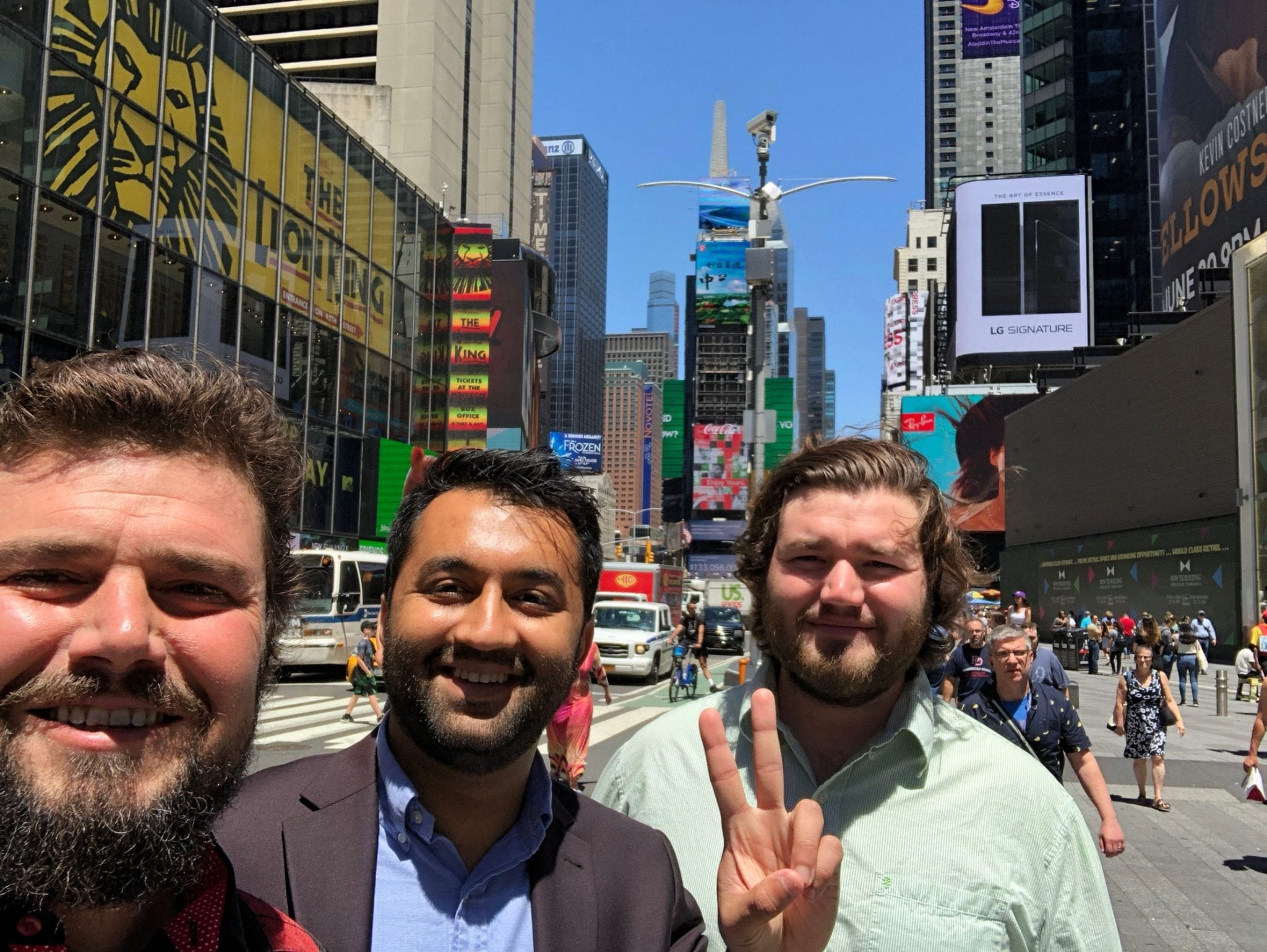 The Monarch Team after a fun time at the SBC Global Event. The team got to learn about the cross section between blockchain and traditional finance.