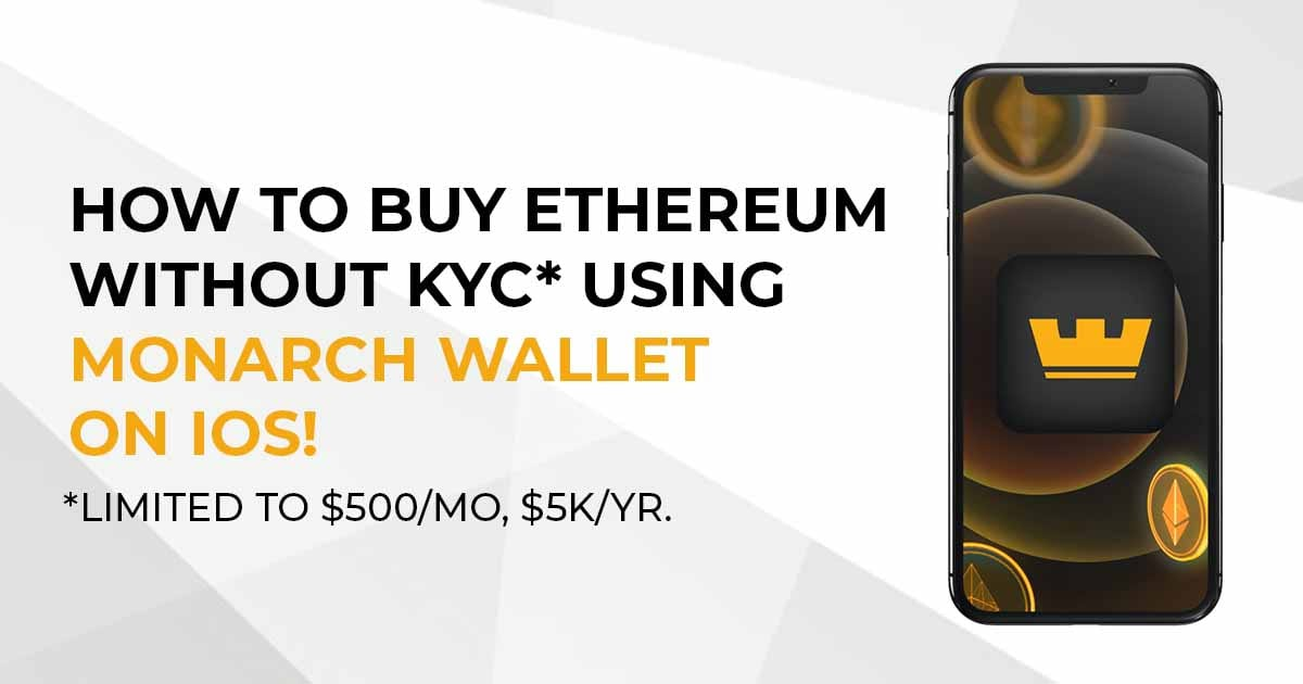How to buy ETH without KYC!